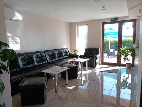 A seating area at Hotel Vanilla, Varna - Хотел Ванила, Варна