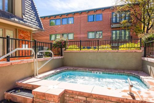 The swimming pool at or near 731 East Durant Avenue Condo Unit 22