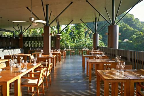A restaurant or other place to eat at Rabot Hotel From Hotel Chocolat