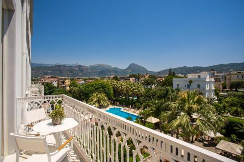 Balcon ou terrasse dans l'établissement Hotel Mediterraneo