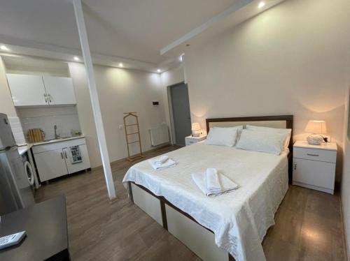 Gulta vai gultas numurā naktsmītnē Georgian Guest House on Asatiani