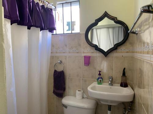 A bathroom at Higuey Center City