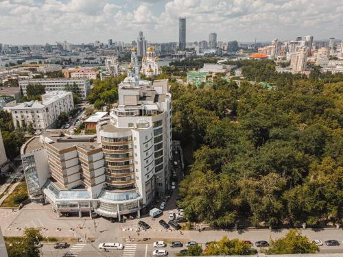 Voznesensky Hotel с высоты птичьего полета