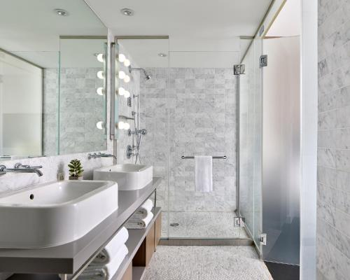 A bathroom at Smyth Tribeca