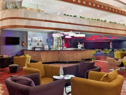 De lounge of bar bij H10 Playa Meloneras Palace