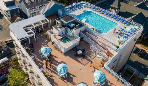 A bird's-eye view of Hotel Monte Carlo Ocean City