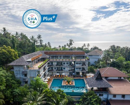A bird's-eye view of Ban's Diving Resort - SHA Plus