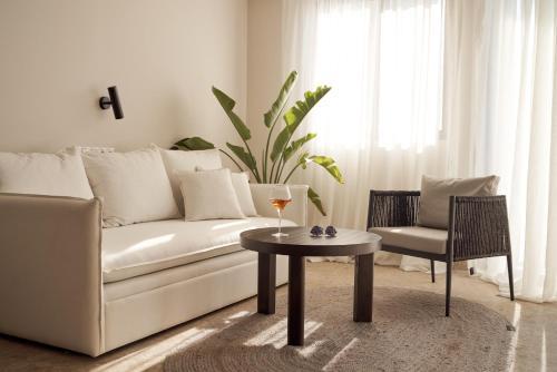 Część wypoczynkowa w obiekcie Asterion Suites & Spa