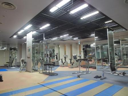 The fitness center and/or fitness facilities at Wisterian Life Club Verde no Mori