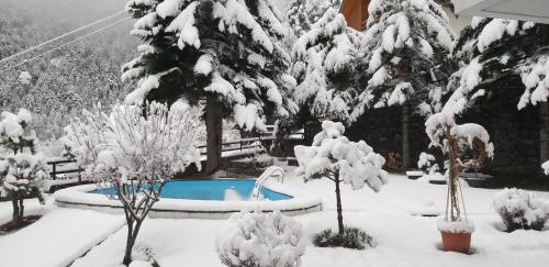CHALET Ski ARINSAL 6 a 8 pers - during the winter