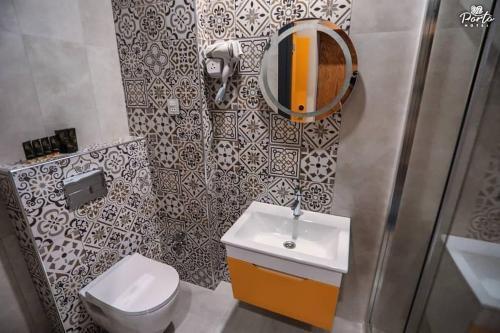 Porto Hotel Baku tesisinde bir banyo