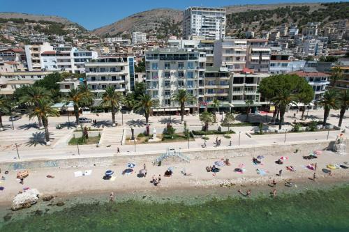 A bird's-eye view of Republika Hotel
