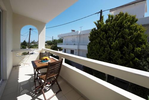 A balcony or terrace at Maria Studios & Apartments