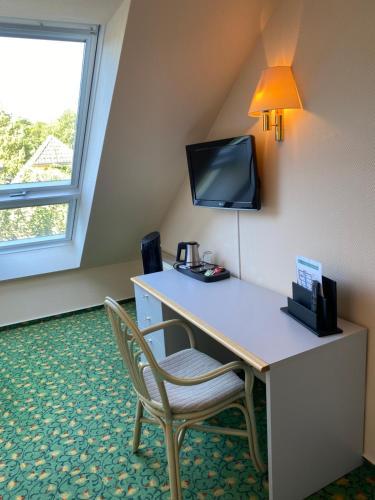 TV/Unterhaltungsangebot in der Unterkunft Hotel am Müritz-Nationalpark