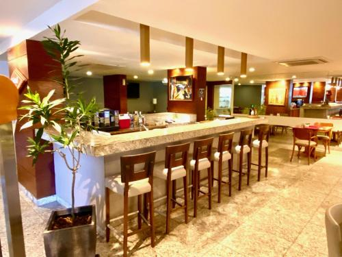 The lounge or bar area at Kastel Manibu Recife - Boa Viagem