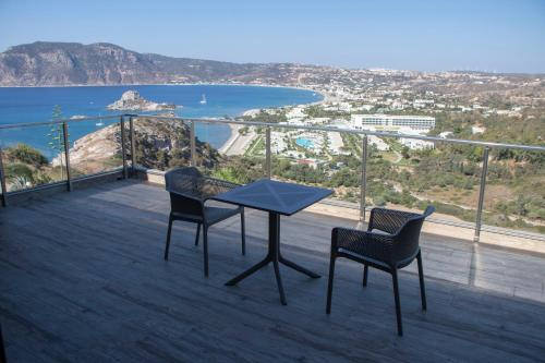 A balcony or terrace at Panorama Studios