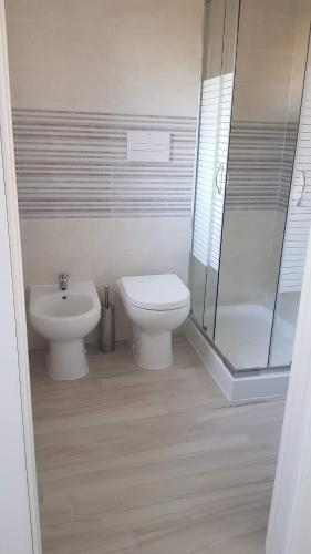 A bathroom at Pepi B&B
