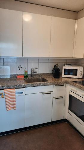 Küche/Küchenzeile in der Unterkunft Holiday accommodation - swimming pool available