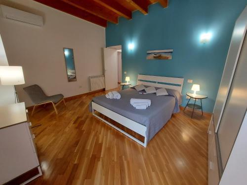 Un ou plusieurs lits dans un hébergement de l'établissement Cocciu d'amuri Holiday house