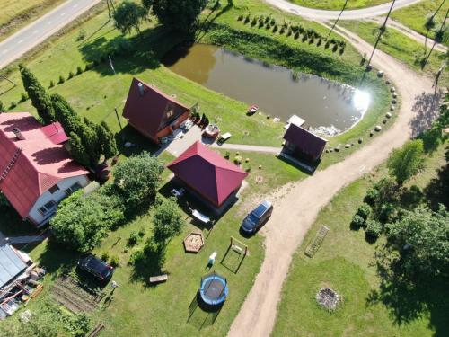 A bird's-eye view of Holiday home Tūjas