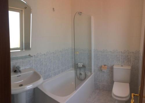 A bathroom at Hostal La Concha