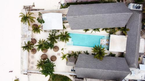 """A view of the pool at Casa Beach Hotel """"Casa Del Mar"""" or nearby"""