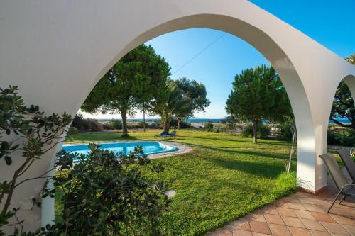 The swimming pool at or near Villa Kalotina