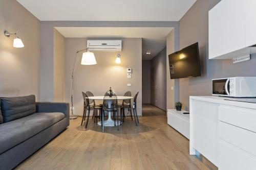 A television and/or entertainment center at MyPlace Treviso Vittoria