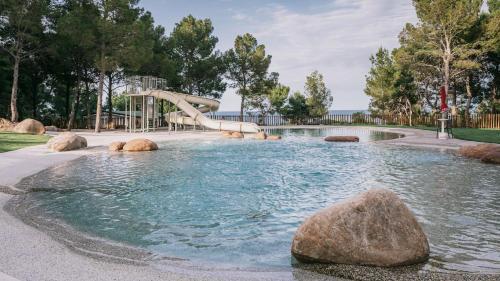Piscina di Pollina Premium Resort o nelle vicinanze