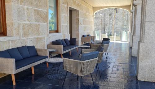 Zona de estar de Hotel Boutique La Churra