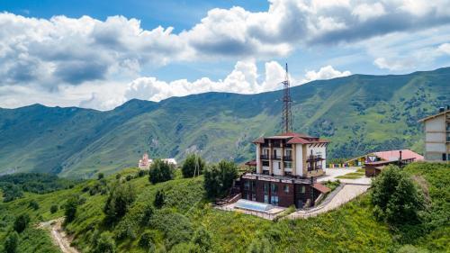 Загальний вид на гори або вид на гори з цей готель