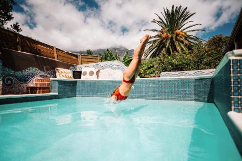 The swimming pool at or near Villa Viva Cape Town