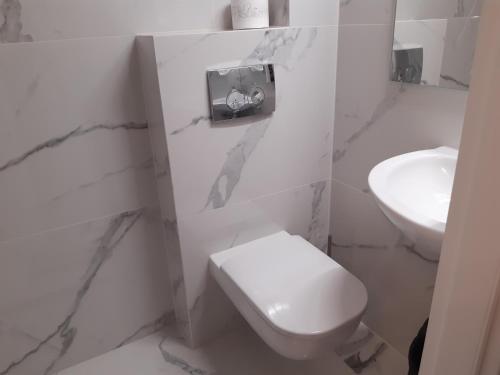Łazienka w obiekcie Bon Ton