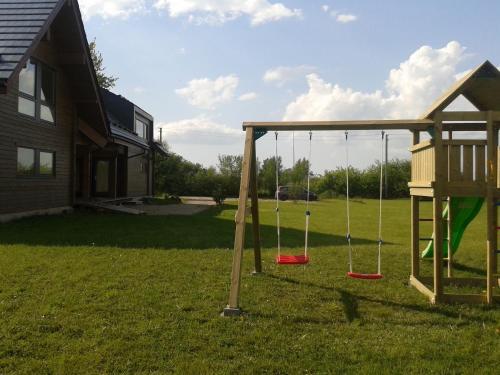 Children's play area at Villa Medeina