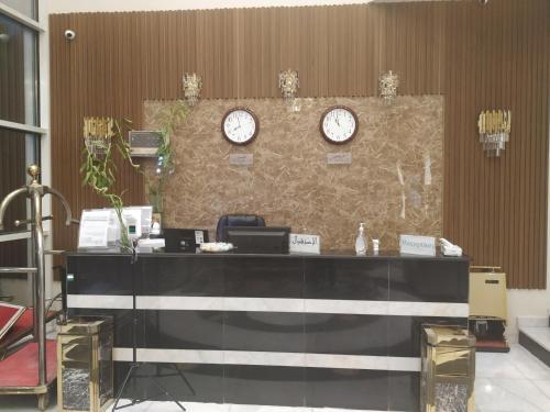 O saguão ou recepção de Al Sharqi Hotel 1