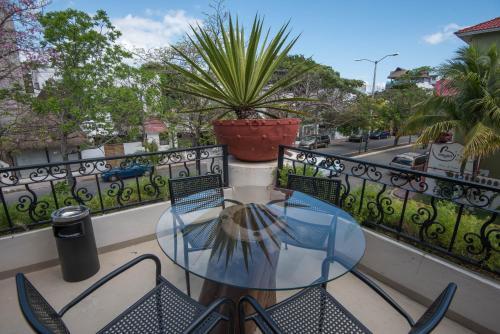 Een balkon of terras bij Hacienda Paradise Boutique Hotel by Xperience Hotels