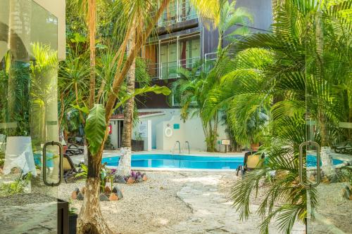 Het zwembad bij of vlak bij Hacienda Paradise Boutique Hotel by Xperience Hotels
