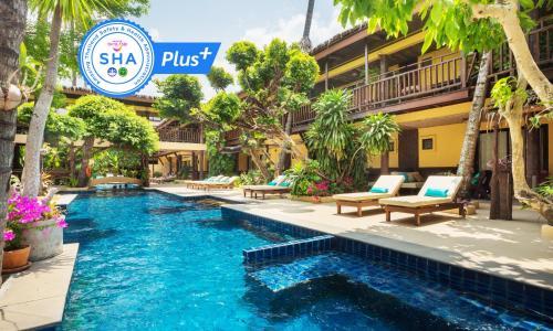 The swimming pool at or close to Vacation Village Phra Nang Inn-SHA Plus