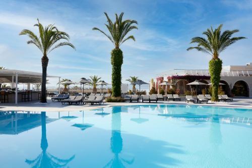 The swimming pool at or near MarBella Corfu