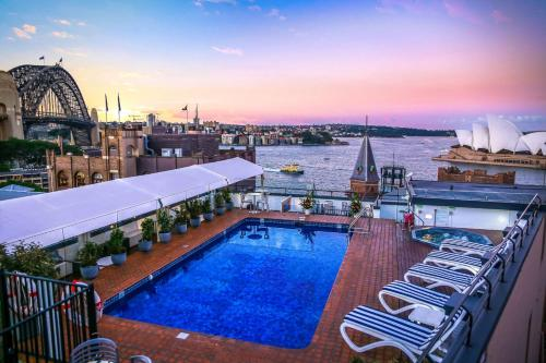 The swimming pool at or near Rydges Sydney Harbour