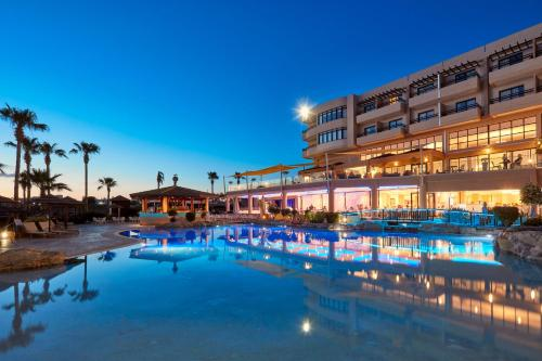 The swimming pool at or near Atlantica Golden Beach Hotel - Adults Only