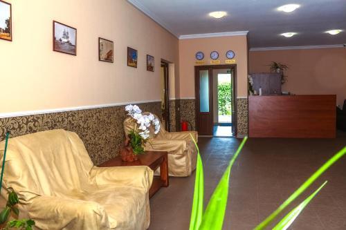 The lobby or reception area at Fazenda