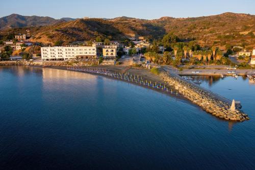 Tylos Beach Hotel с высоты птичьего полета