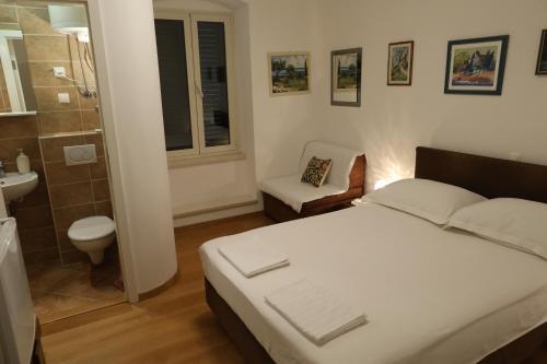 Cama o camas de una habitación en Malena Palace