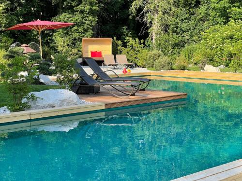 The swimming pool at or close to Bayern Resort Hotel (Adults only)
