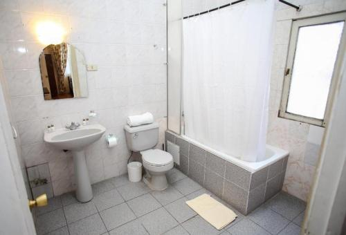 A bathroom at Hotel Plaza Londres 77
