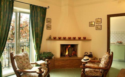 Hall o reception di Hotel Villa Rizzo Resort and Spa