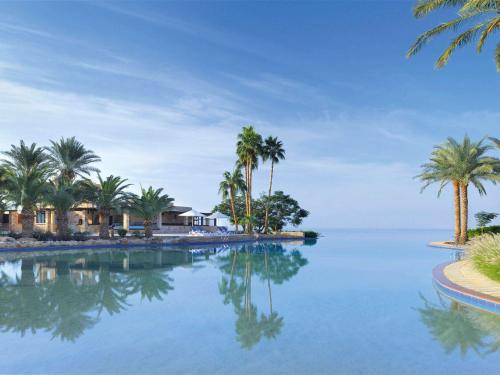 The swimming pool at or near Mövenpick Resort & Spa Dead Sea