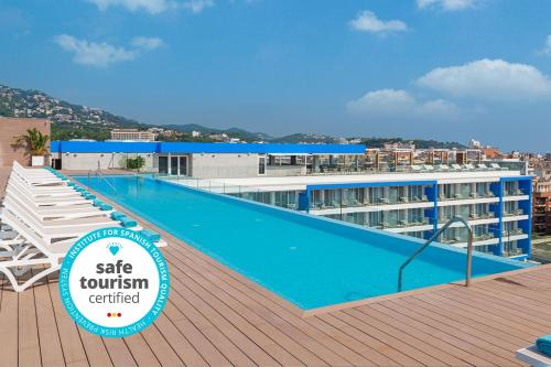 The swimming pool at or near L'Azure Hotel 4* Sup
