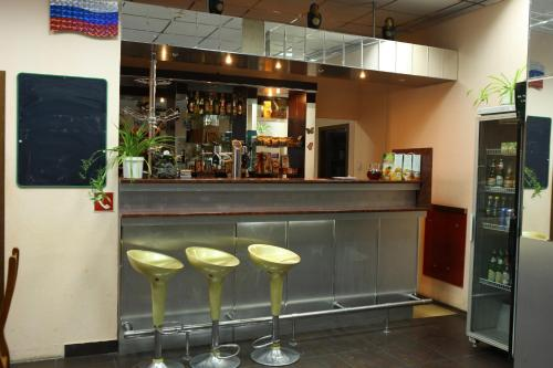 Лаундж или бар в Гостиница Аэлита
